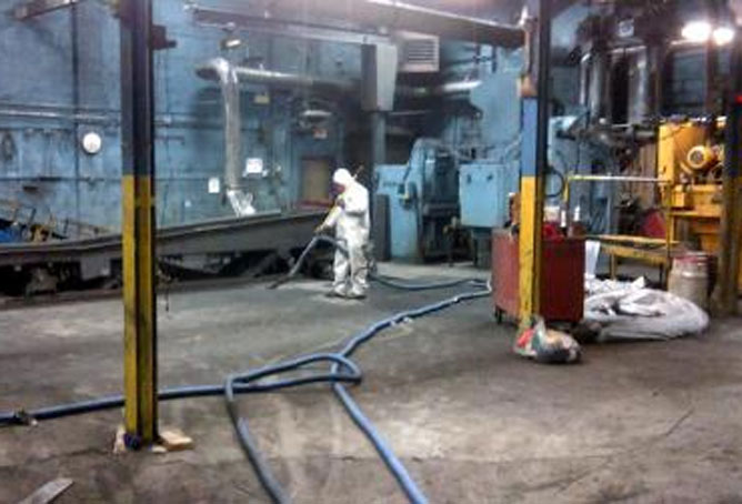 PSI Industrial Solutions Fugitive Dust Cleaning 3